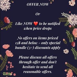 Other - Bundle only on items below $15